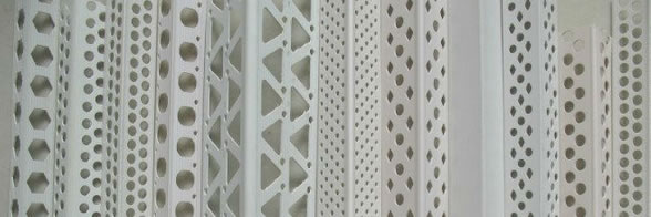 Expanded Aluminum Mesh Plaster Stop Beads