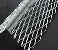 Diamond Mesh Expanded Stop Beads for Wall Angle Forming Plastering